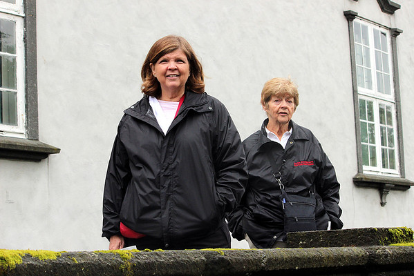 Debbie and Mom in Bergen, Norway